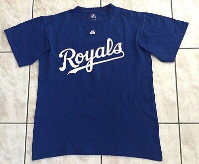 Kansas City Royals T-shirt - Majestic - Blau - Nr. 4 Gordon - Mlb Baseball Supplement Die Vitalenergie Und NäHren Yin