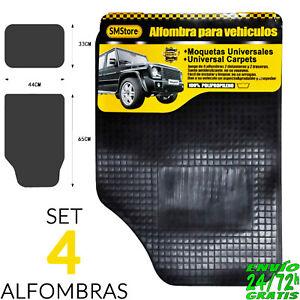 Alfombras-Alfombrillas-para-Coche-de-Goma-Universal-4-pzas-Moqueta-Polipropileno