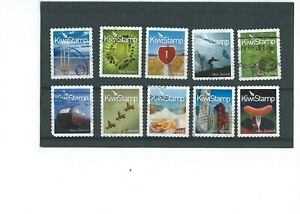 World-Stamps-NEW-ZEALAND-2009-Kiwi-stamps-Lot-2995