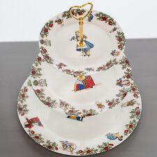 Alice In Wonderland Bone China 3 Tiered Cake Stand