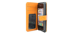 myBitti-New-iPhone-5S-Genuine-vintage-cow-Leather-Flip-Wallet-Case-Cover