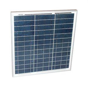 Solarmodul-30-Watt-poly-Solarpanel-Photovoltaik-Solarsellen-30-W-NEU-TUV