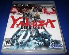 Yakuza Dead Souls Playsation 3 - PS3 - Factory Sealed!! Free Shipping!!