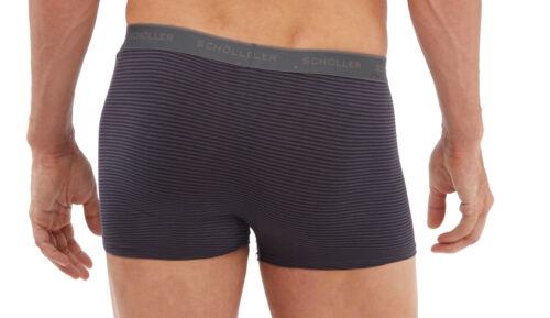 6//L  Webgummibund 3 Schöller Herren Pants Retroshorts Shorts anthrazit grau Gr