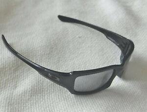 9113001fe9 Image is loading New-Oakley-Fives-Squared-Sunglasses-Black-Custom-Polarized-