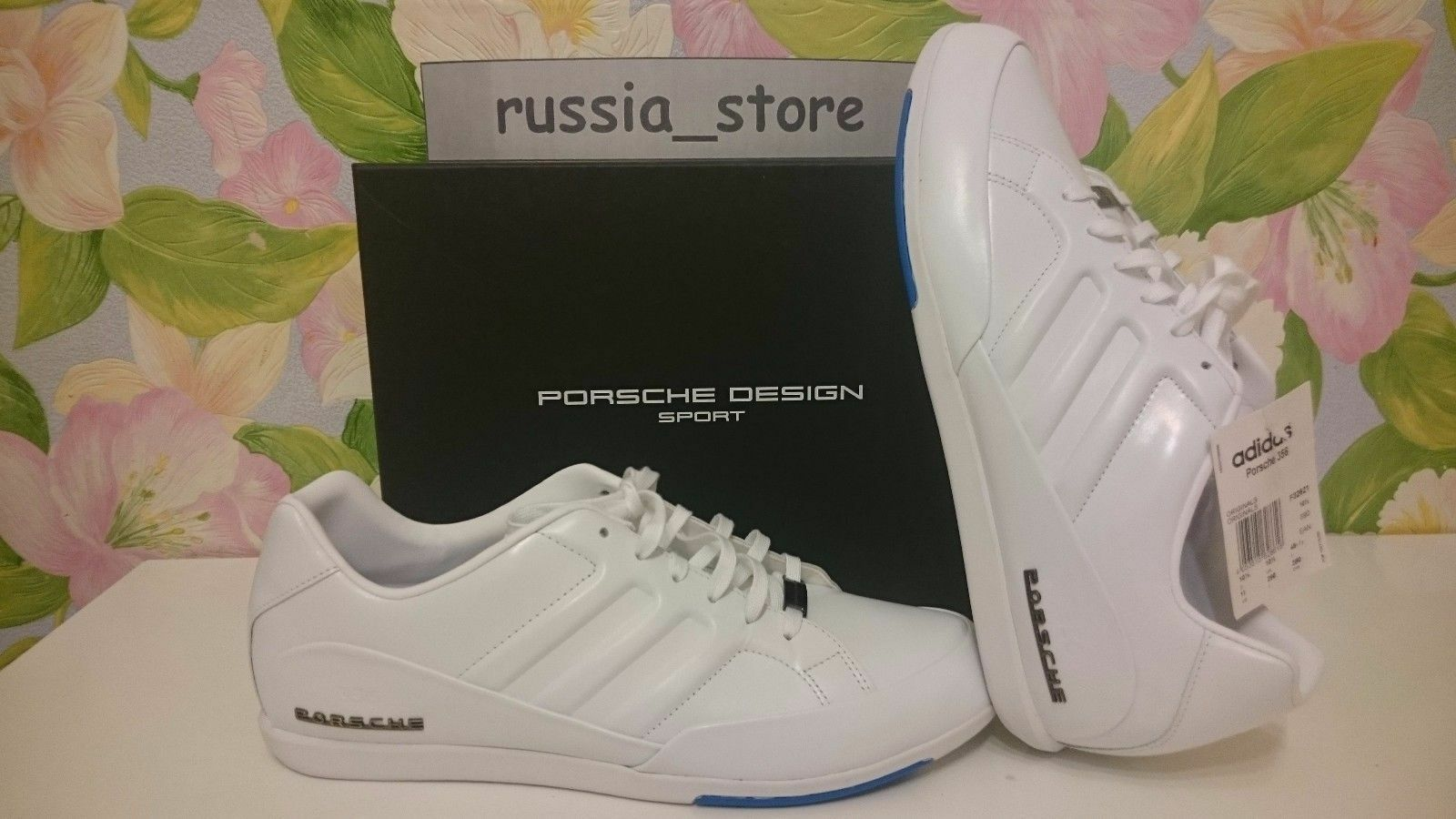 Porsche Design 356 mens sneakers leather trainers adidas ORIGINAL F32621 SALE