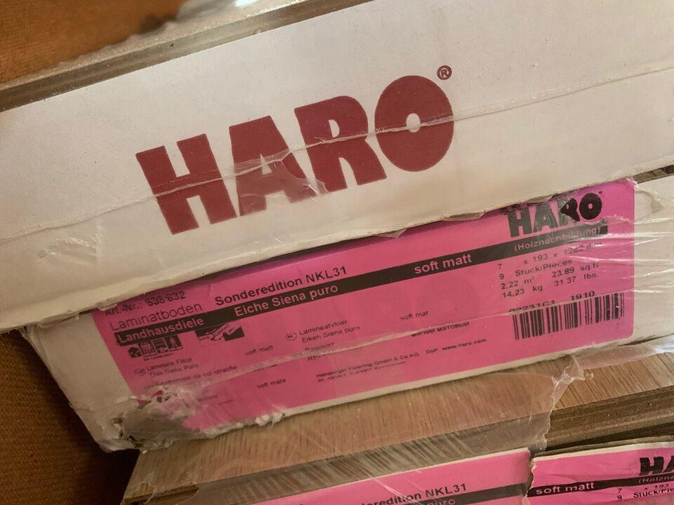 Haro Laminatgulv, Plankegulv Eg Siena puro, 7 mm mm