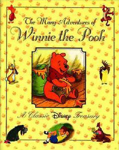 The-Many-Adventures-of-Winnie-the-Pooh-A-Classic-Disney-Treasury-Hard-Back-New