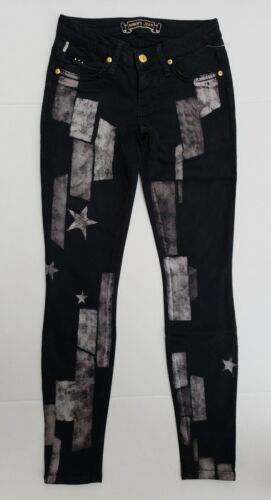 Robins juli Kvinder Jean Jeans salg Skinny Black 26 4 Sz Flag Nye 1ZnUxHwZW