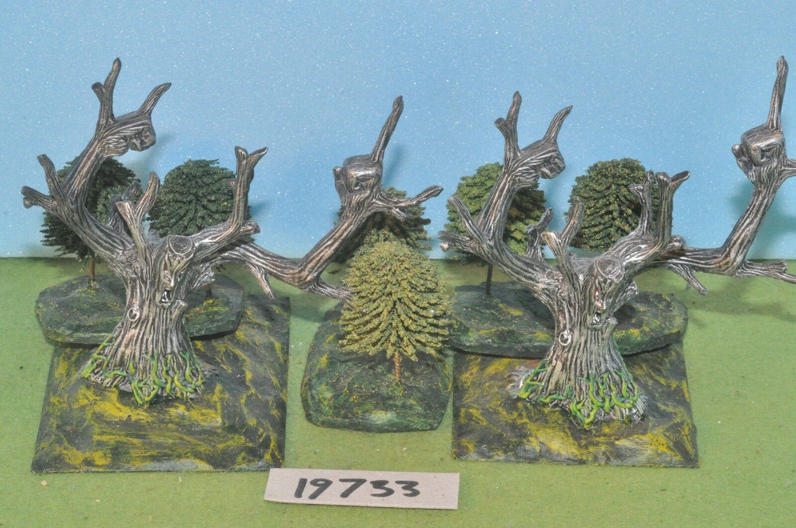 Item fantasy   warhammer - ent tree people 2 metal treekin sigmar - (19733)