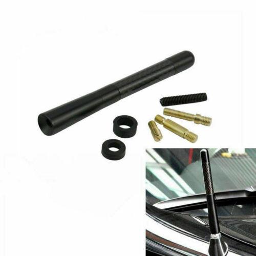 """Universal 4.7/"""" Auto Aluminum Alloy Carbon Fiber FM AM Radio Car Aerial Antenna"""