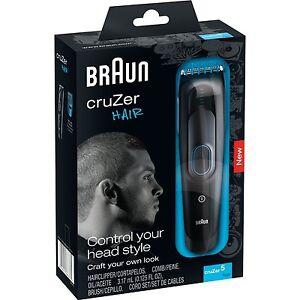 braun cruzer 5 hair trimmer 110 220 volts for worldwide use. Black Bedroom Furniture Sets. Home Design Ideas