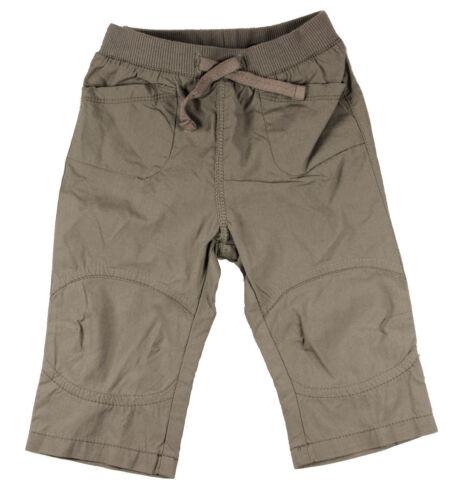 Mexx Hose Stoffhose Sommerhose grau//braun Baby Kinder Junge Größe 62 68 Neu