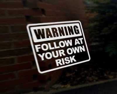 DON/'T FOLLOW ME I/'M LOST TOO car vinyl decal vehicle bike graphic bumper sticker