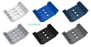 LEGO slope invertito 45 6 x 4 matrimoniale con 4 x 4 ritaglio e 3 Fori Ricambi Lotto