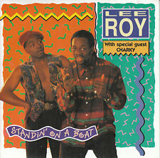 "7"" 45 TOURS FRANCE LEE ROY Ft CHARKY ""Standin' On A Boat"" 1990 ELECTRO HOUSE"