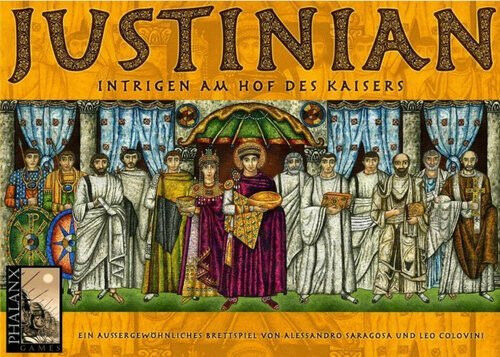 Jeu de société Justinian - En tuttieuomod - Neuf,  encore embtuttié   - Phalanx  80% di sconto