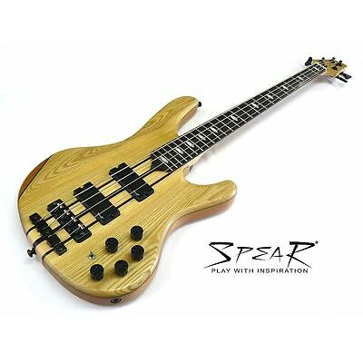 E-Bass Spear Beatbass 4 Ash Top aktiv