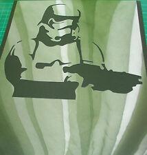 Nuevo M16 Aerógrafo Plantillas/máscaras Star Wars Trooper Pintura T-Shirt Craft Película