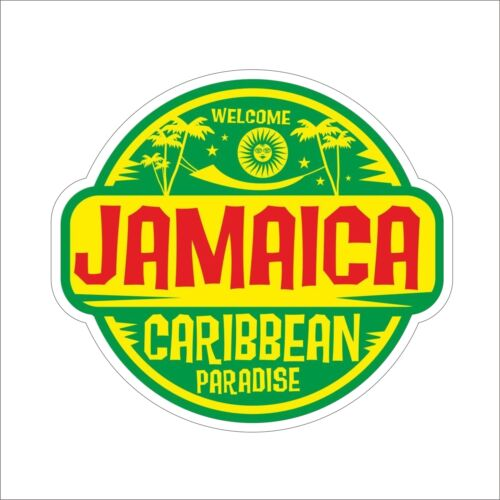 3M Graphics JAMAICA Funny Vinyl Car Truck Window Decal Sticker Helmet Decor