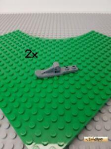 LEGO-2Stk-Technic-Ski-Kuve-neu-dunkelgrau-15540