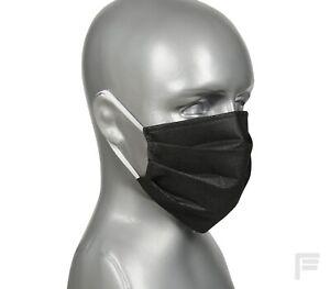 Mascherina nera - maschera per il viso (x 10)