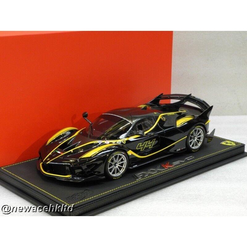 Ferrari fxxk Evolution noir Stellato voiture N.44 Limited 36pcs BBR Model 1 18  P18158D