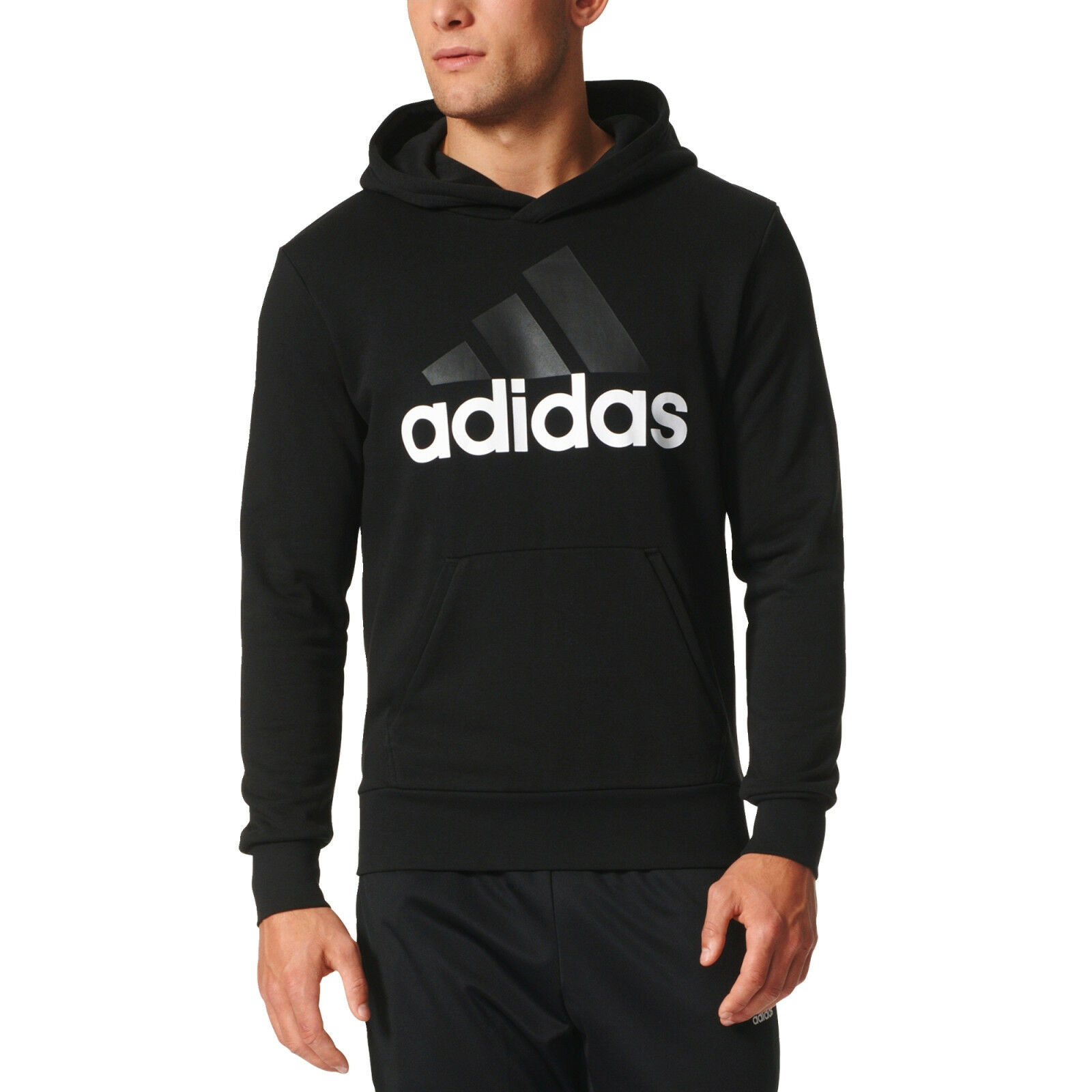Adidas Herren Kapuzenpulli Trainieren Essentials Linear