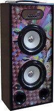 MOBILE BLUETOOTH SOUNDBOX - DESIGN - LAUTSPRECHER -RADIO FM-AUX-USB-SD-MP3- BOX8