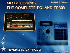 Roland tr808 - 340 + campioni-AKAI MPC2000 XL formato-ZIP DISCO