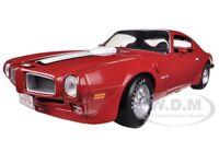 1972 Pontiac Firebird Trans Am Red 455 Ho 1/18 To 1500pc By Autoworld Amm998