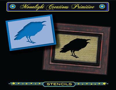 Cute Animals Magpie Bird Shape Walls Stencil Airbrush Painting Decor Stencils S