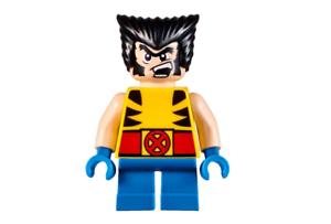 Lego Wolverine 76073 Short Legs Super Heroes Minifigure