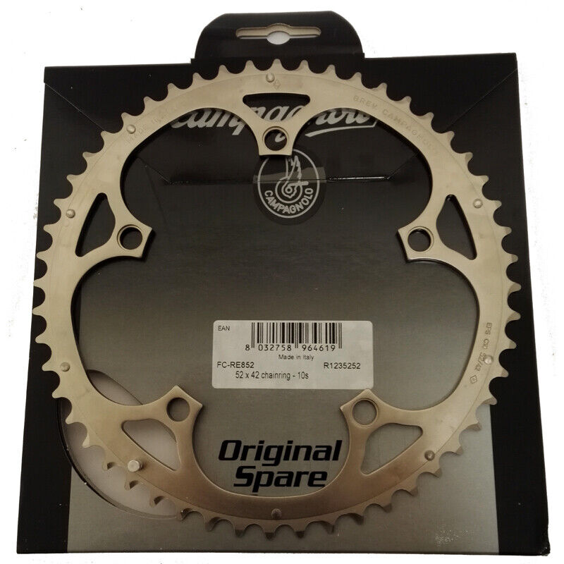 Campagnolo Record 10sp EPS Chainring - 52T - FC-RE852 - RRP