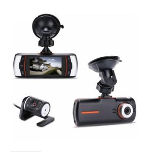 1080P Full HD Car DVR Video Camera Dual Lens Dashboard Cam Night Vision Recorder
