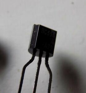 Transistor PNP BC556A lot de 100 pièces