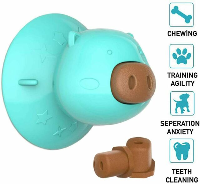 Dog Chew Toy Lick Molar Suction Cup Slow Feeder For Bathing Treats Ebay