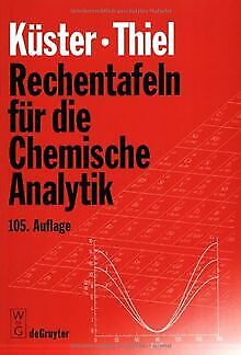 Rechentafeln für die Chemische Analytik. von Frie... | Buch | Zustand akzeptabel