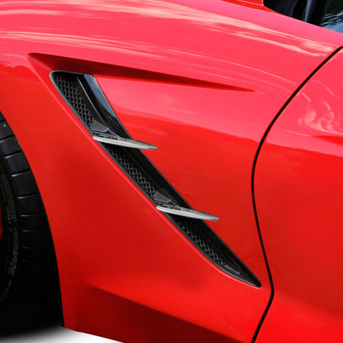 2014-2019 Corvette C7 Stingray Chrome Side Cove Spears 647773