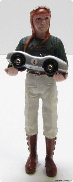 SCHUCO piccolo Figur - 146 mm - mit Mercedes 2.5 Replica Maßstab 1 90  | Passend In Der Farbe