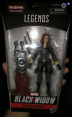 HASBRO BLACK WIDOW MARVEL LEGENDS SERIES 6 inch ACTION FIGURE IN HAND NEW IN BOX