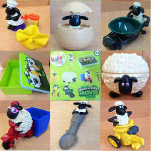 McDonalds-Happy-Meal-Toy-2014-Shaun-The-Sheep-Character-Plastic-Toys-Various