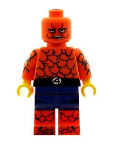 Custom Designed Minifigure Geo Force Superhero Printed On LEGO Parts