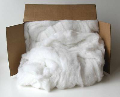 Sax Polyester Fiber Filling, White, 5 lb