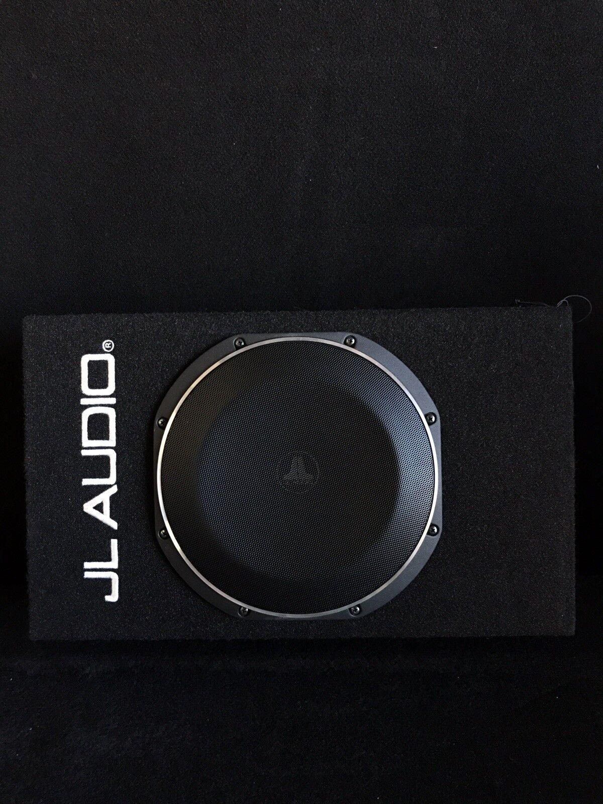 JL Audio ACS110LG-TW1 Powered Shallow Subwoofer Sealed 10TW1 PowerWedge Sub Box