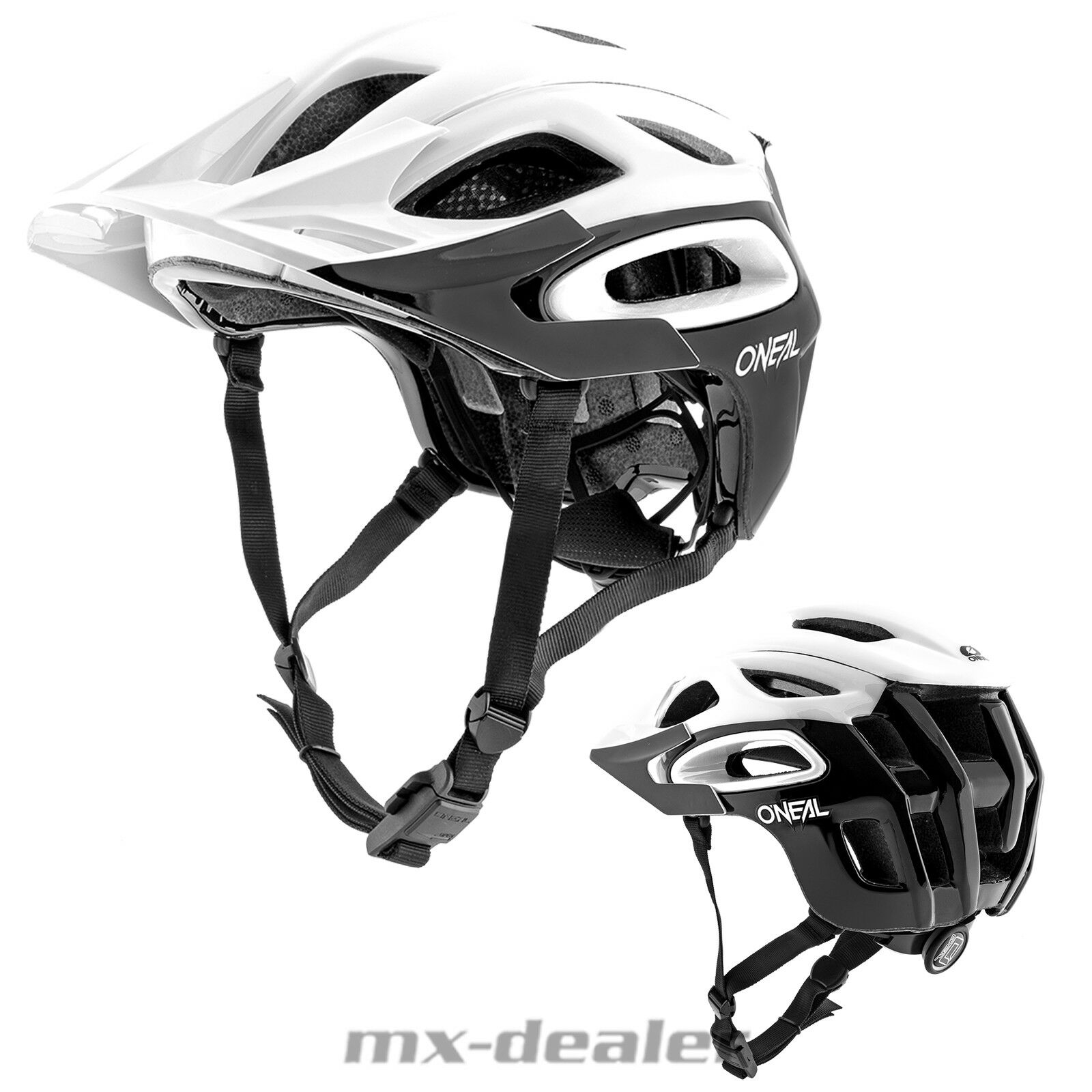 d987cf26bed8 O'Neal Orbiter 2 black white Fahrrad Helm All Mountain Trail MTB Enduro BMX