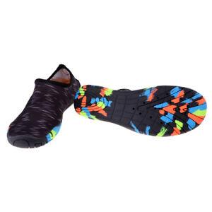 e68ca02b67cb Water Shoes Aqua Shoes Barefoot Skin Socks Quick-Dry Swim Fins Black ...