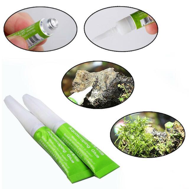 1PC Aquarium Moss Glue Water Plants Glue Fish Tank Coral Reef Ornaments Glu K1L0