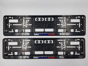 Peugeot-Sport-Number-Plate-Surrounds-Peugeot-Motorsport-2-Pieces