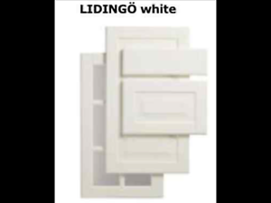 Details About 1 Ikea Lidingo Drawer Front White 24 For Akurum Kitchen Cabinet